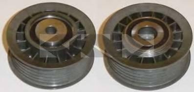 SPIDAN 66103 Паразитный / ведущий ролик, поликлиновой ремень
