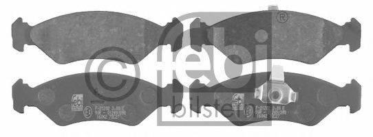 FEBI BILSTEIN 16042 Комплект тормозных колодок, дисковый тормоз