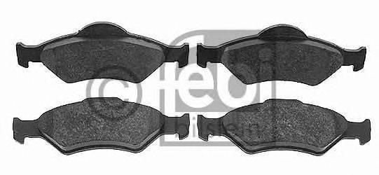 FEBI BILSTEIN 16400 Комплект тормозных колодок, дисковый тормоз