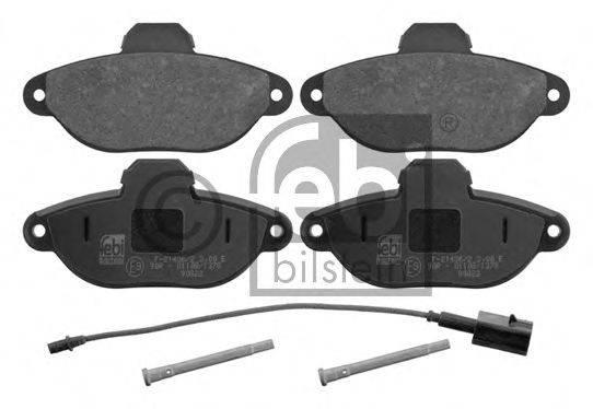 FEBI BILSTEIN 16754 Комплект тормозных колодок, дисковый тормоз