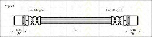 TRISCAN 815013004 Тормозной шланг