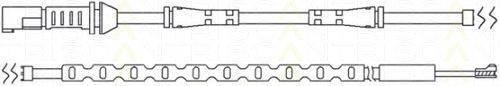 TRISCAN 811511048 Сигнализатор, износ тормозных колодок