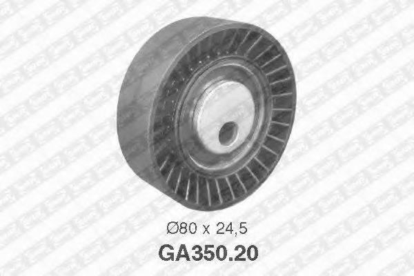 SNR GA35020 Натяжной ролик, поликлиновой  ремень