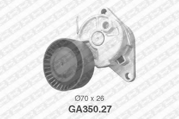 SNR GA35027 Натяжной ролик, поликлиновой  ремень