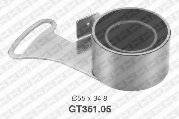 SNR GT36105 Натяжной ролик, ремень ГРМ