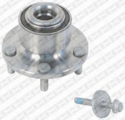SNR R15262 Комплект подшипника ступицы колеса