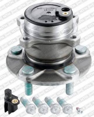 SNR R15269 Комплект подшипника ступицы колеса