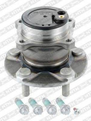 SNR R15279 Комплект подшипника ступицы колеса