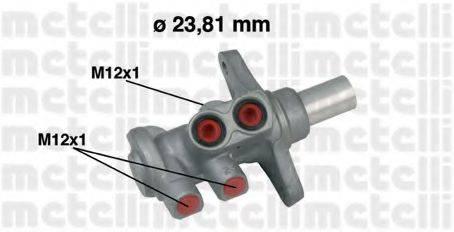 METELLI 050639 Главный тормозной цилиндр