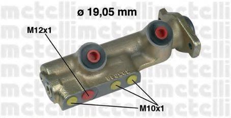 METELLI 050080 Главный тормозной цилиндр