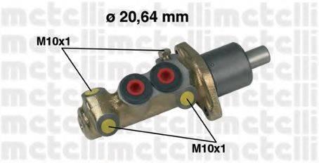 METELLI 050087 Главный тормозной цилиндр