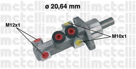 METELLI 050388 Главный тормозной цилиндр