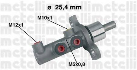 METELLI 050438 Главный тормозной цилиндр