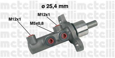 METELLI 050439 Главный тормозной цилиндр