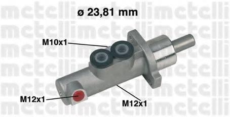 METELLI 050441 Главный тормозной цилиндр