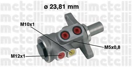 METELLI 050448 Главный тормозной цилиндр
