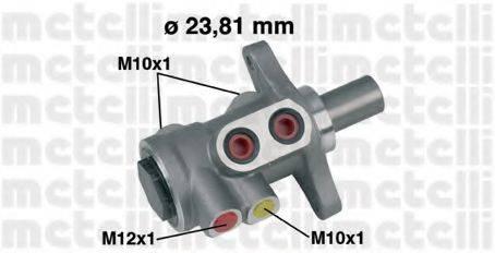 METELLI 050455 Главный тормозной цилиндр