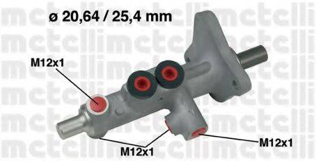 METELLI 050628 Главный тормозной цилиндр