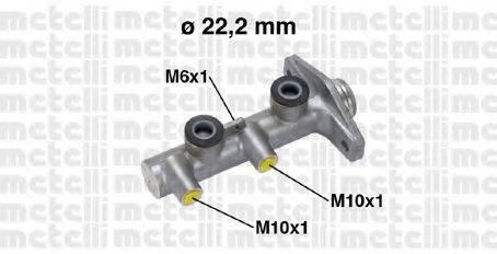 METELLI 050763 Главный тормозной цилиндр
