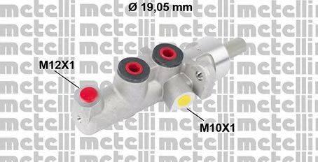 METELLI 050620 Главный тормозной цилиндр