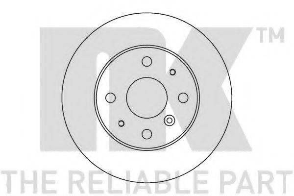 NK 205106 Тормозной диск