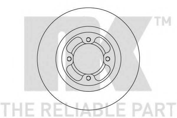 NK 205110 Тормозной диск