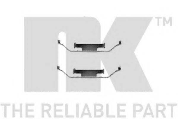 NK 7915097 Комплектующие, колодки дискового тормоза
