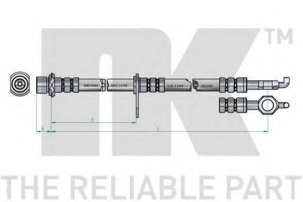 NK 8545166 Тормозной шланг