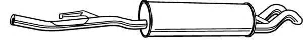 FONOS 616525 Глушитель выхлопных газов конечный