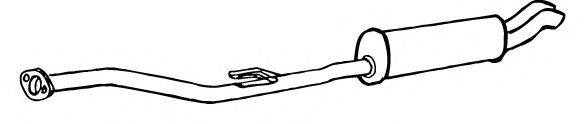 FONOS 616527 Глушитель выхлопных газов конечный