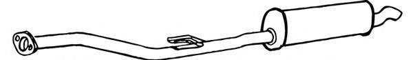 FONOS 616919 Глушитель выхлопных газов конечный