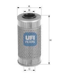 UFI 2668900 Топливный фильтр