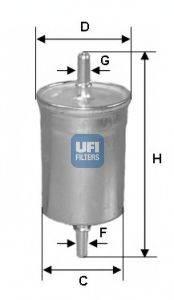 UFI 3151500 Топливный фильтр