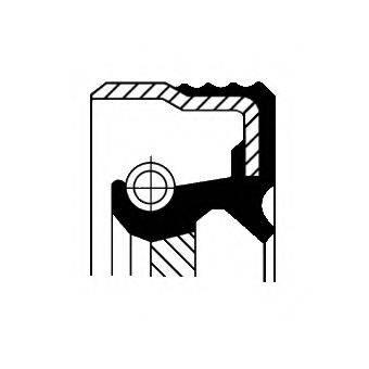 CORTECO 12012579B Уплотняющее кольцо, коленчатый вал