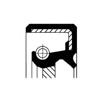 Уплотняющее кольцо, коленчатый вал CORTECO 12010699B
