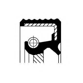 CORTECO 12015352B Уплотняющее кольцо, коленчатый вал