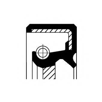 Уплотняющее кольцо, коленчатый вал CORTECO 12010743B