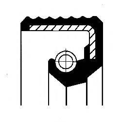 Уплотнительное кольцо CORTECO 12011714B