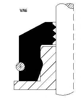 Уплотнительное кольцо, стержень кла CORTECO 12012438