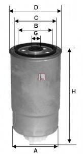 SOFIMA S8500NR Топливный фильтр