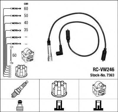 Комплект проводов зажигания NGK 7363