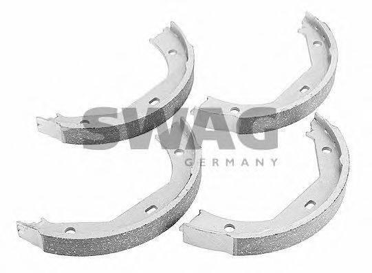 SWAG 20918535 Комплект тормозных колодок, стояночная тормозная система