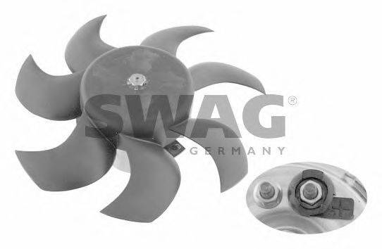 SWAG 30906996 Вентилятор, охлаждение двигателя