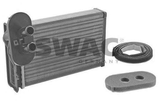 Теплообменник, отопление салона SWAG 30 91 1089