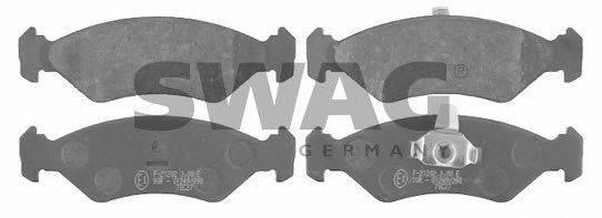 SWAG 50916042 Комплект тормозных колодок, дисковый тормоз