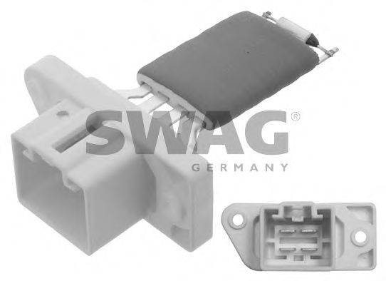 SWAG 50938635 Сопротивление, вентилятор салона