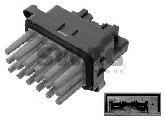 SWAG 50938645 Сопротивление, вентилятор салона
