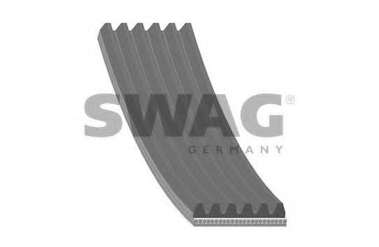 SWAG 62939785 Поликлиновой ремень