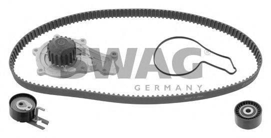SWAG 64932726 Водяной насос + комплект зубчатого ремня