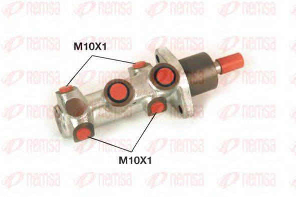 REMSA C102075 Главный тормозной цилиндр
